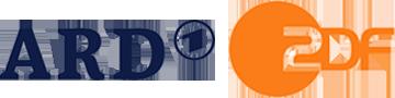 Logo ARD und ZDF