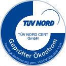 Ökostrom Siegel TÜV Nord