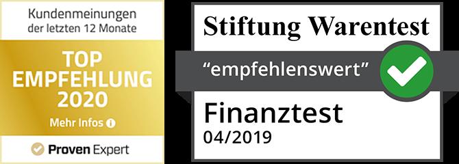 Ce24 Siegel Provenexpert Und Stiftung Warentest