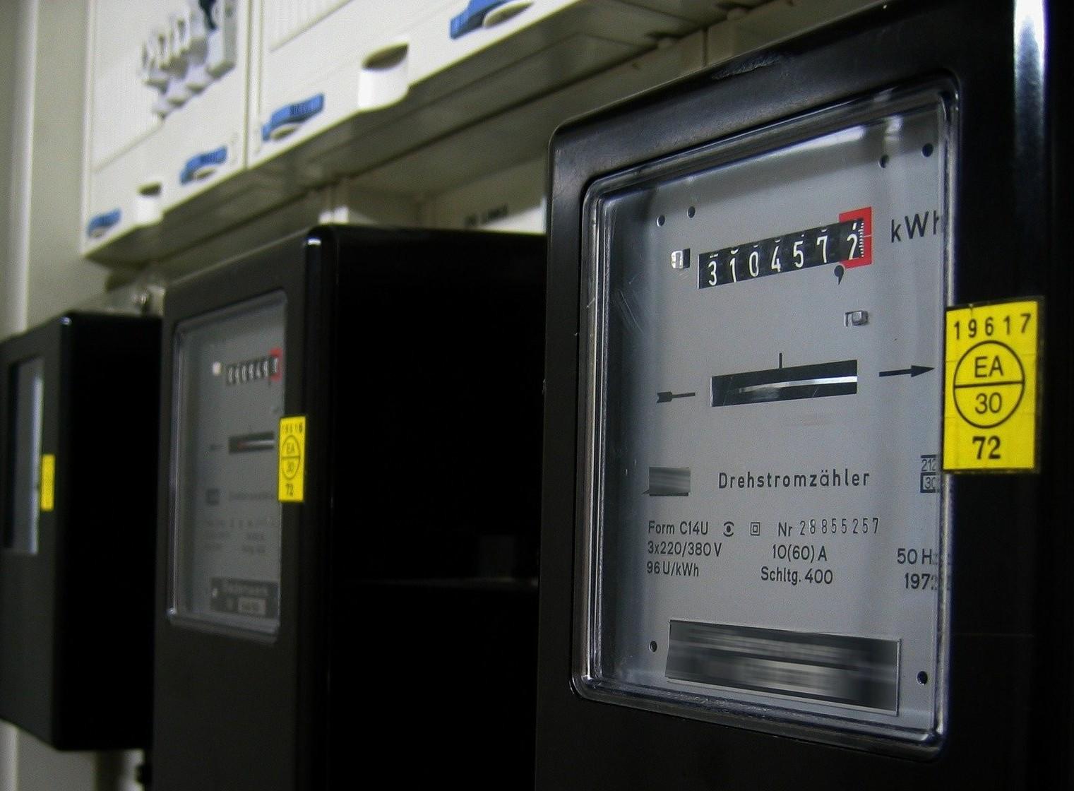 Stromzähler und Zählernummer