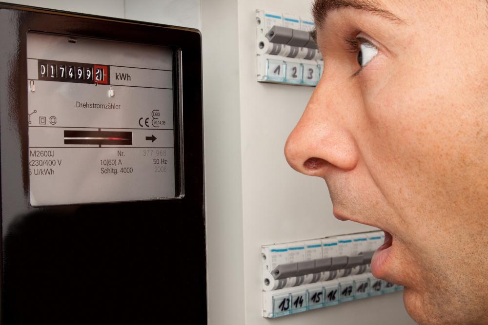 Stromzähler Ablesung